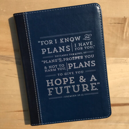Deep Blue Flexcover Journal Jeremiah 29:11