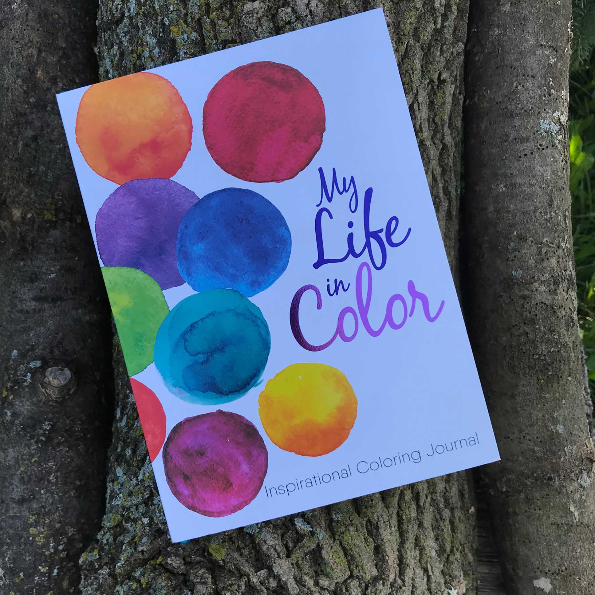 My Life in Color Inspirational Coloring Journal - Grace Gear