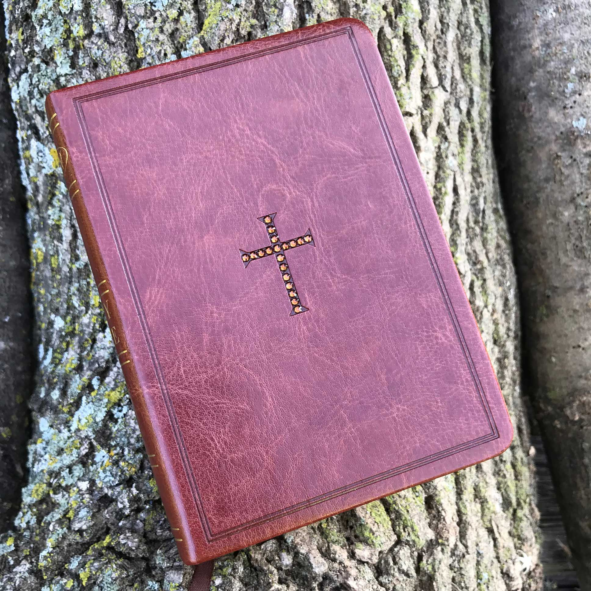 NKJV Brown Compact Reference Bible - Grace Gear