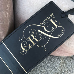 Saved By Grace Pagemarker Bookmark