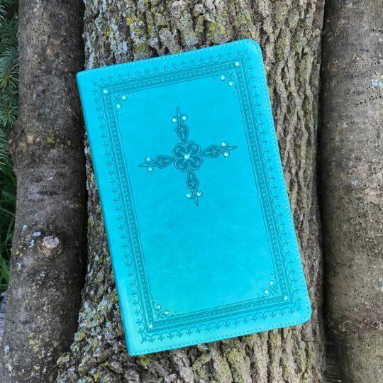 KJV Ultrathin Turquoise Bibl