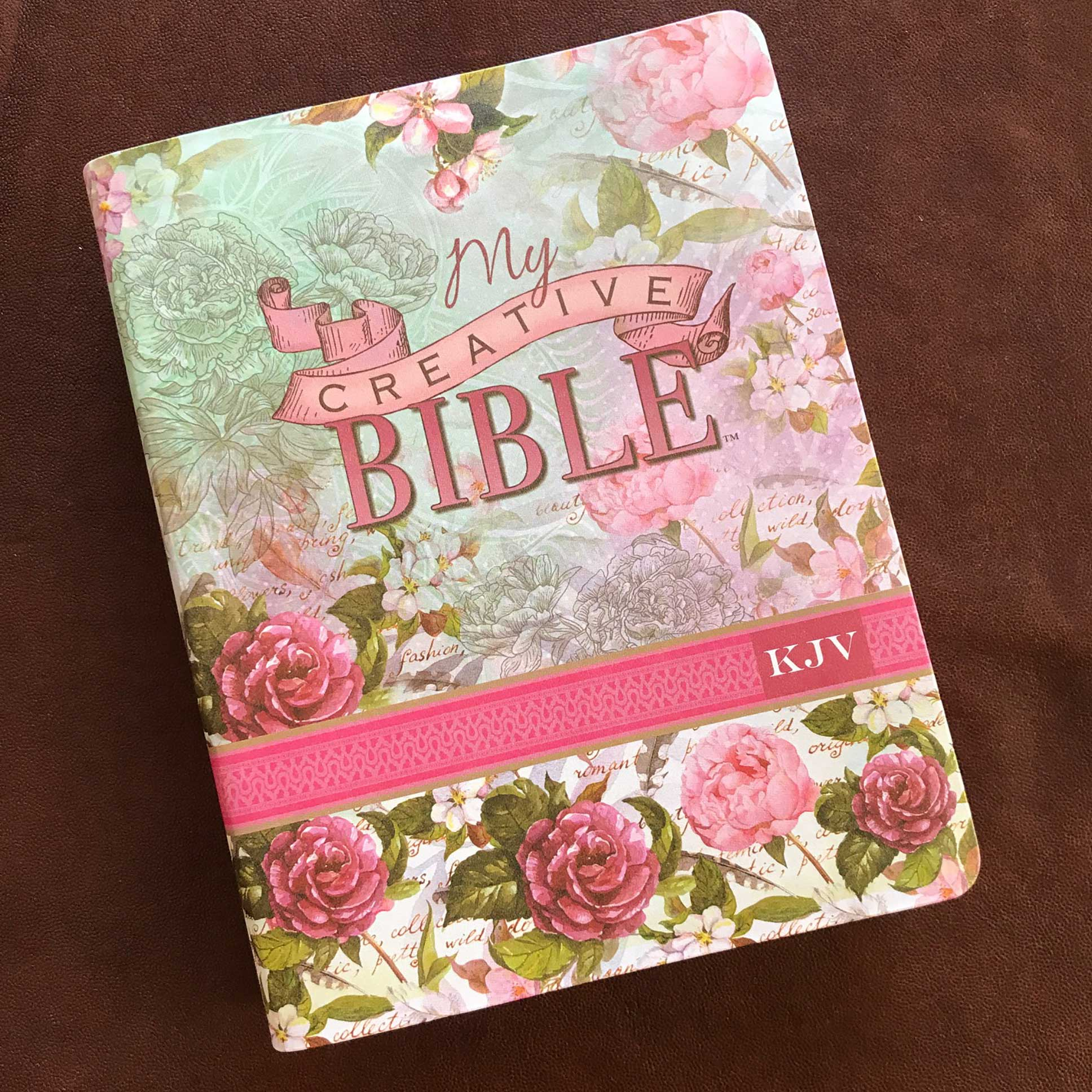 My Creative Bible Kjv Journaling Bible In Silky Floral