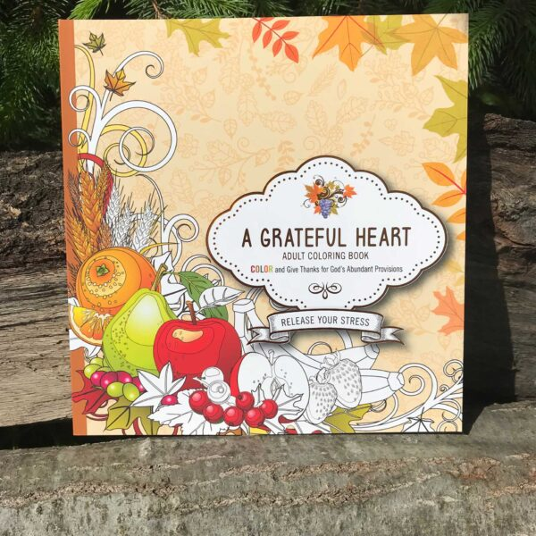 A Grateful Heart Coloring Book
