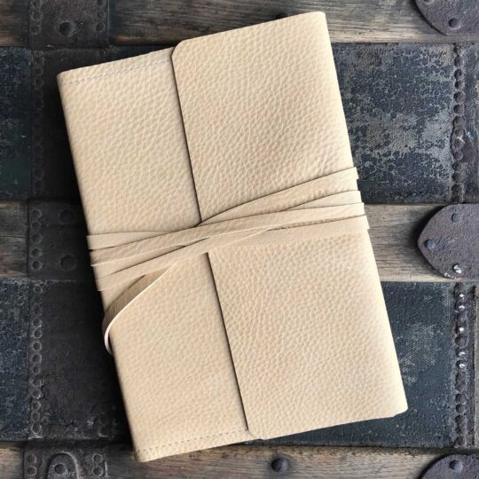 Deerskin Leather Wrap Journal