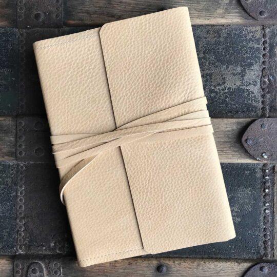 Deerskin Leather Wrap Journal