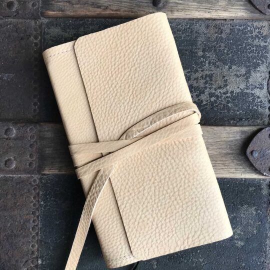 Deerskin Wrap Journal - Small