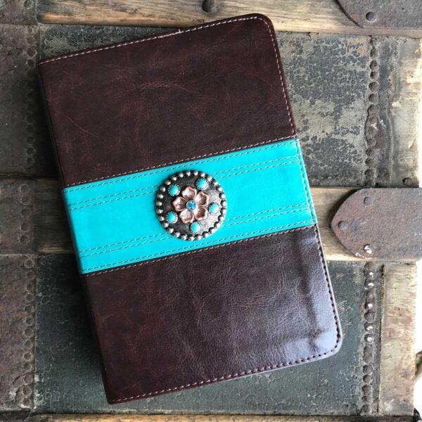 ESV Brown &Teal Bible