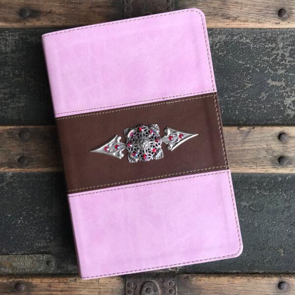 HCSB Pink & Brown Bible