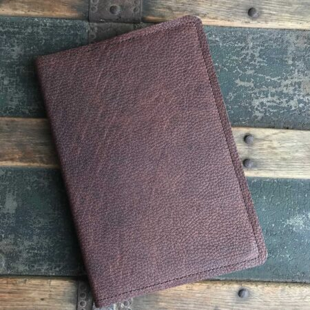 Utility Oil Tanned Leather Journal - Medium