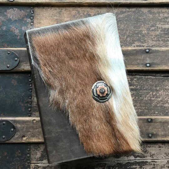 NIV Life Application Study Bible, Brown Cowhide with Concho