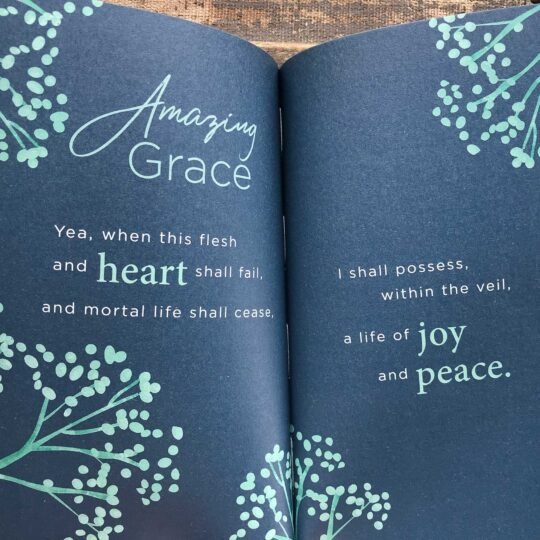 The Amazing Grace Promise Book in Green and Blue
