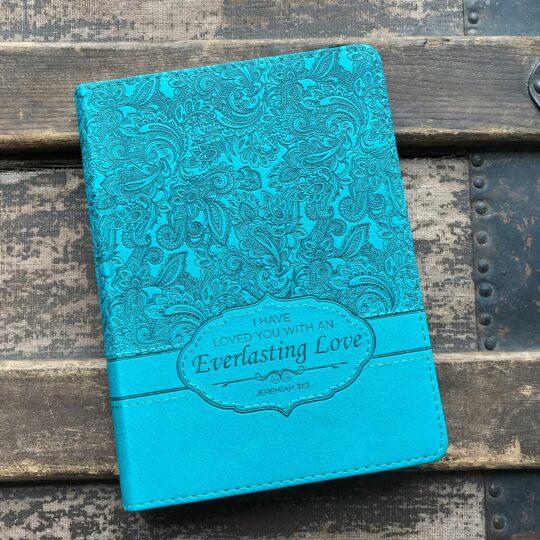 Turquoise Everlasting Love Journal