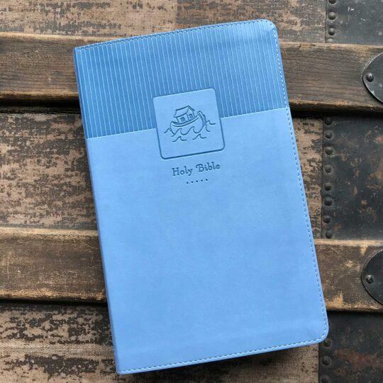 Blue NIV Baby Keepsake Bible