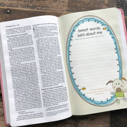 Pink NIV Baby Keepsake Bible